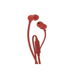JBL T110 Wired In Red Ear Headphones price in hyderabad, telangana, nellore, vizag